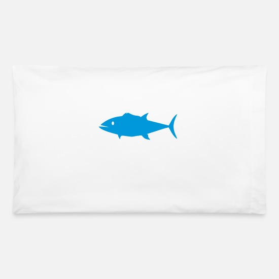 Sea Pillow Cases - sea food - Pillowcase 32'' x 20'' white