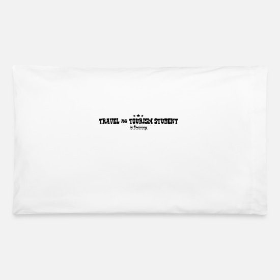 Student Pillow Cases - travel tourism student in training - Pillowcase 32'' x 20'' white