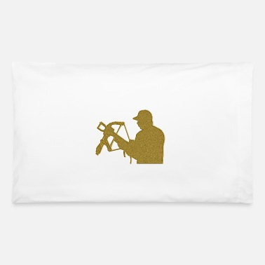 Crossbow Golden Crossbow - Pillowcase 32'' x 20''