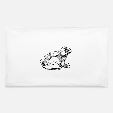 Lurch frog frosch toad kroete reptile reptilien lurch - Pillowcase 32'' x 20''