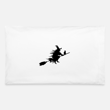 Witching Hour witch - Pillowcase 32'' x 20''