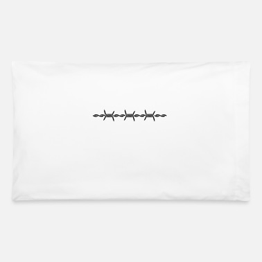 Barbed Wire barbed wire (1c) - Pillowcase 32'' x 20''