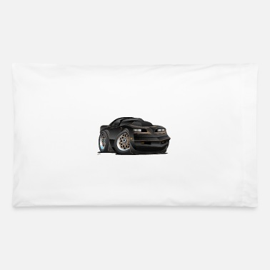 Muscle Seventies Classic Muscle Car Cartoon - Pillowcase 32'' x 20''