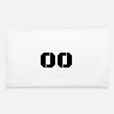 Jersey Number Jersey Number 00 - Pillowcase 32'' x 20''