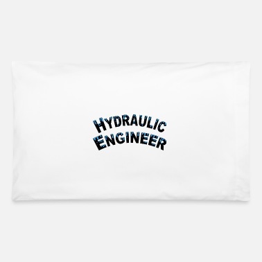 Water Droplets Hydraulic Engineer Water Droplets - Pillowcase 32'' x 20''