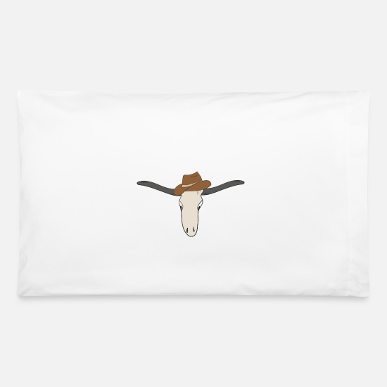 New Pillow Cases - buffalo - Pillowcase 32'' x 20'' white