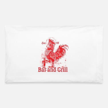 Grill Utensils Grill Grill Grill - Pillowcase 32'' x 20''