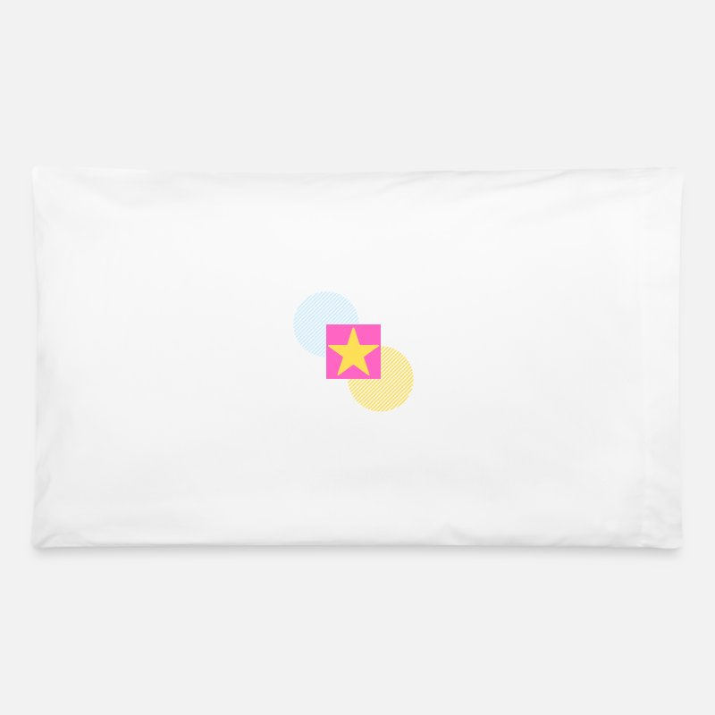 Cool Quote Pillow Cases - Circle Square Style - Pillowcase 32'' x 20'' white