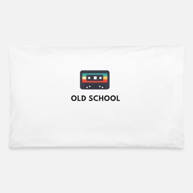 Old old school casette , old music - Pillowcase 32'' x 20''