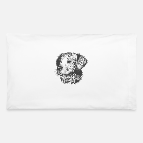 Dog Owner Pillow Cases - dog - Pillowcase 32'' x 20'' white