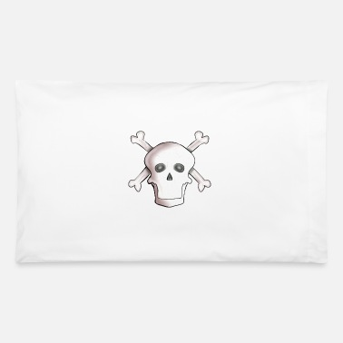 PIRATE SKULL AND CROSS BONES - Pillowcase