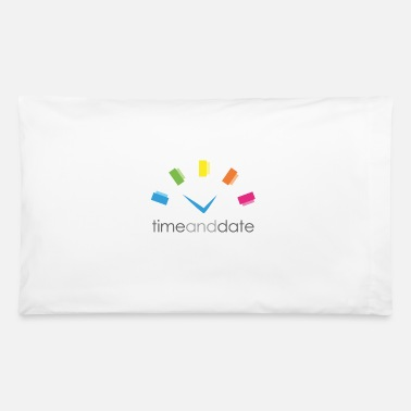 Date Of Birth Time and Date - Pillowcase 32'' x 20''