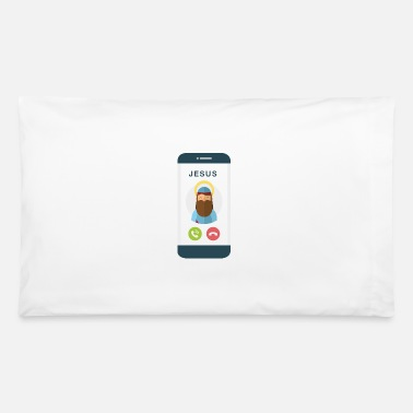 Decline Jesus Christ Phone Call Accept Decline Funny - Pillowcase 32'' x 20''
