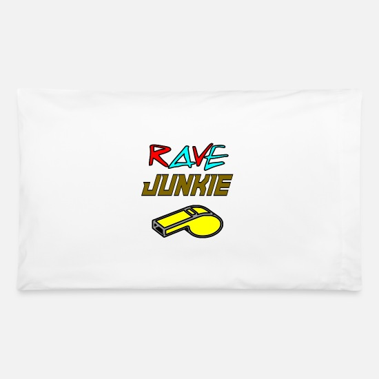 Wear Pillow Cases - rave junkie - Pillowcase 32'' x 20'' white
