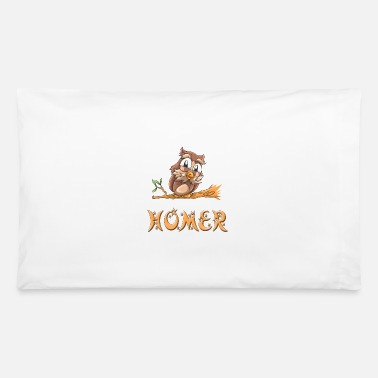 Homer Homer Owl - Pillowcase 32'' x 20''