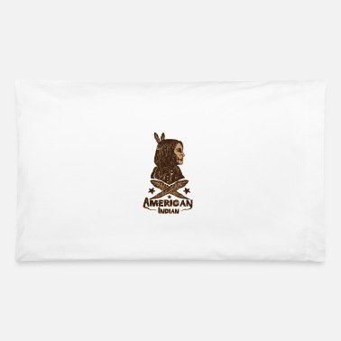 American Indian american indian - Pillowcase