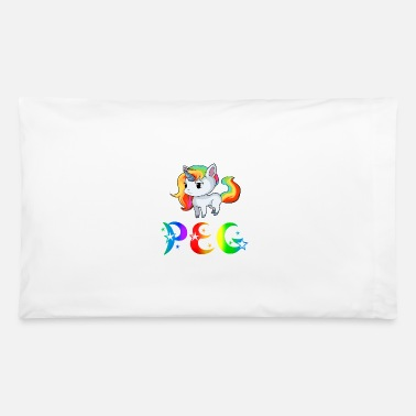 Peg Peg Unicorn - Pillowcase 32'' x 20''