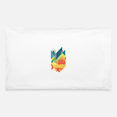 Mountains Gradient Mountain - Pillowcase 32'' x 20''