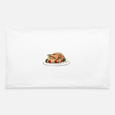 Thanksgiving Turkey Thanksgiving Turkey / Christmas Turkey - Pillowcase 32'' x 20''
