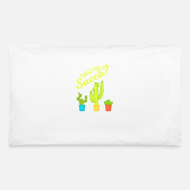 Amazing Sarcasm A Greeny Cactus Plant Tee For You With - Pillowcase 32'' x 20''