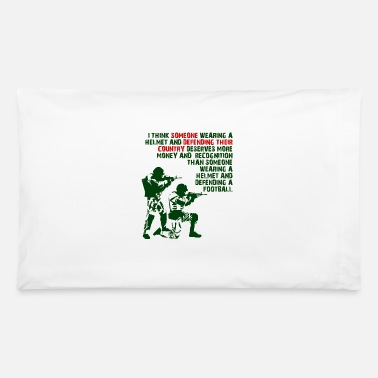 Enjoy Wearing A Helmet Funny T-shirt - Pillowcase 32'' x 20''