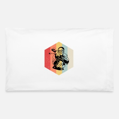 Speedball Retro Paintball rhombus gift - Pillowcase 32'' x 20''