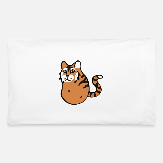 Potato Pillow Cases - Tigtato - Pillowcase 32'' x 20'' white