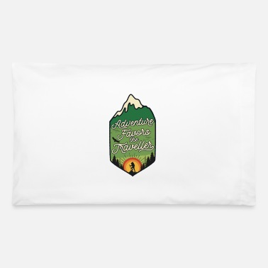 Adventure Adventure Favors the Traveller - Pillowcase 32'' x 20''