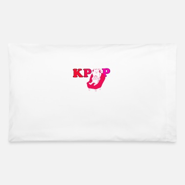 Korea Pop Music Kpop K-Pop Music Korea Cat Headphones Gift - Pillowcase 32'' x 20''