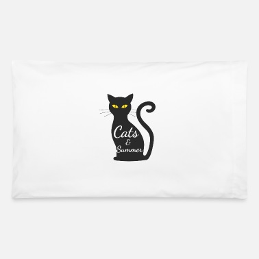 Cats and Summer tshirt for women - Pillowcase 32'' x 20''