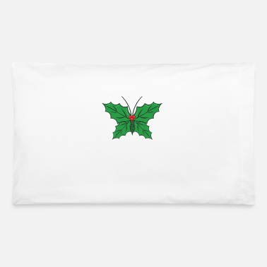 Home Decor Christmas Mistletoe Holiday Decoration Leave Berry - Pillowcase 32'' x 20''