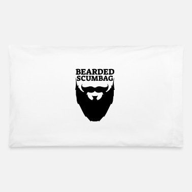 Beard Beard Bearded Mustache Bearded Scumbag - Pillowcase 32'' x 20''