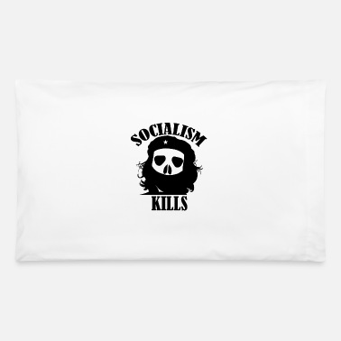 Marxism Socialism Kills No Marxism Enjoy Capitalism - Pillowcase 32'' x 20''
