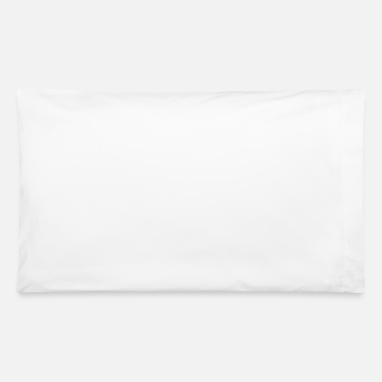 Beard Pillow Cases - it s not a beard it s saddle beard - Pillowcase 32'' x 20'' white