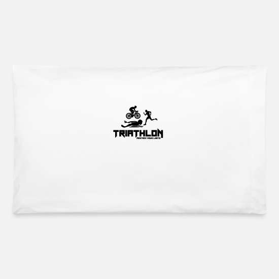 Triathlet Pillow Cases - Triathlon - Pillowcase 32'' x 20'' white