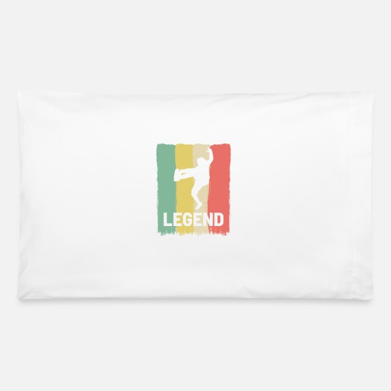 Dancer Pillow Cases - Break Dancing Hip Hop Dancer - Pillowcase 32'' x 20'' white