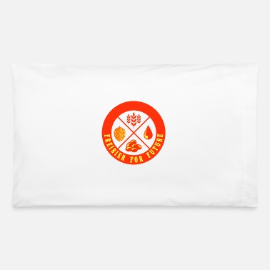 Beer Drinkers FREIBIER FOR FUTURE Oktoberfest Gifts - Pillowcase 32'' x 20''
