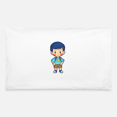 Young Young school enrollment First Class Gift - Pillowcase 32'' x 20''