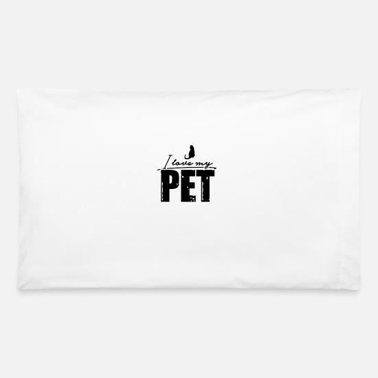 Pet Pillow Cases - Pet - Pillowcase 32'' x 20'' white