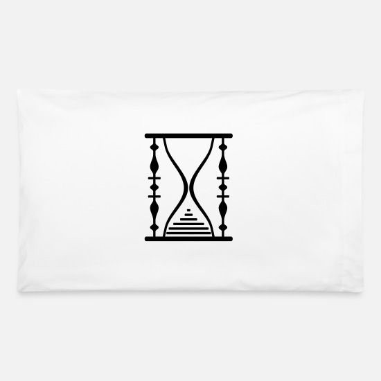 Digital Pillow Cases - Hourglass 14 - Pillowcase 32'' x 20'' white