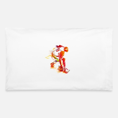 basketball sport dribbling - Pillowcase 32'' x 20''