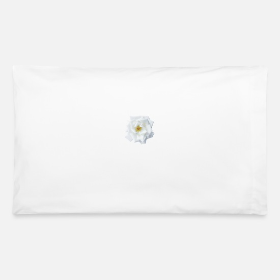 Flower Power Pillow Cases - Flower - Pillowcase 32'' x 20'' white