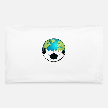 Soccer world soccer ball - Pillowcase 32'' x 20''