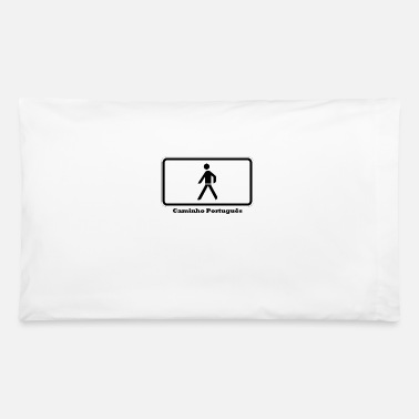 James Caminho Português - Pillowcase 32'' x 20''