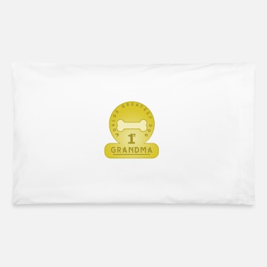 Grandma World's Greatest Dog Grandma - Pillowcase 32'' x 20''
