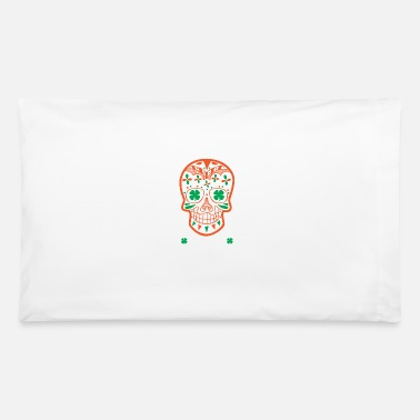Day St. Patrick's Day Sugar Skull Day Of The Drunk - Pillowcase 32'' x 20''