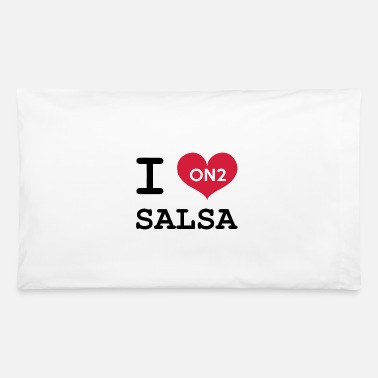 Dance I Love Salsa On 2 - Pillowcase 32'' x 20''