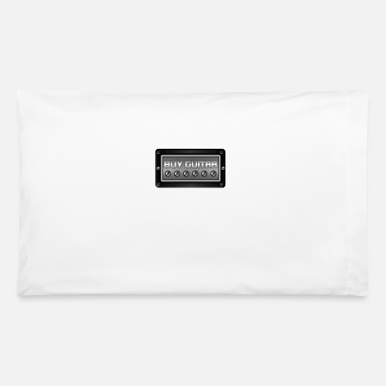 Guitar Pillow Cases - Buy Guitar - Pillowcase 32'' x 20'' white