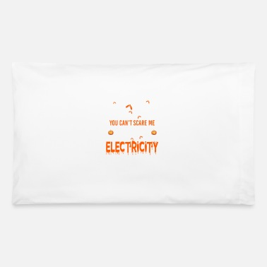 Electrical Line Electricity I Work With Electricity - Pillowcase 32'' x 20''
