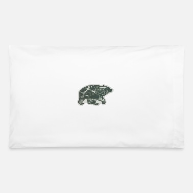 Beard Bear - Pillowcase 32'' x 20''